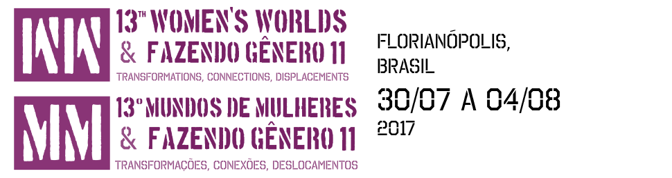 13º Congresso Mundos de Mulheres/Women's Worlds Congress e Seminário Internacional Fazendo Gênero 11